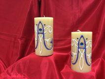 candela mariana bianca e blue
