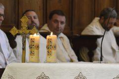 candele con strass a goccia