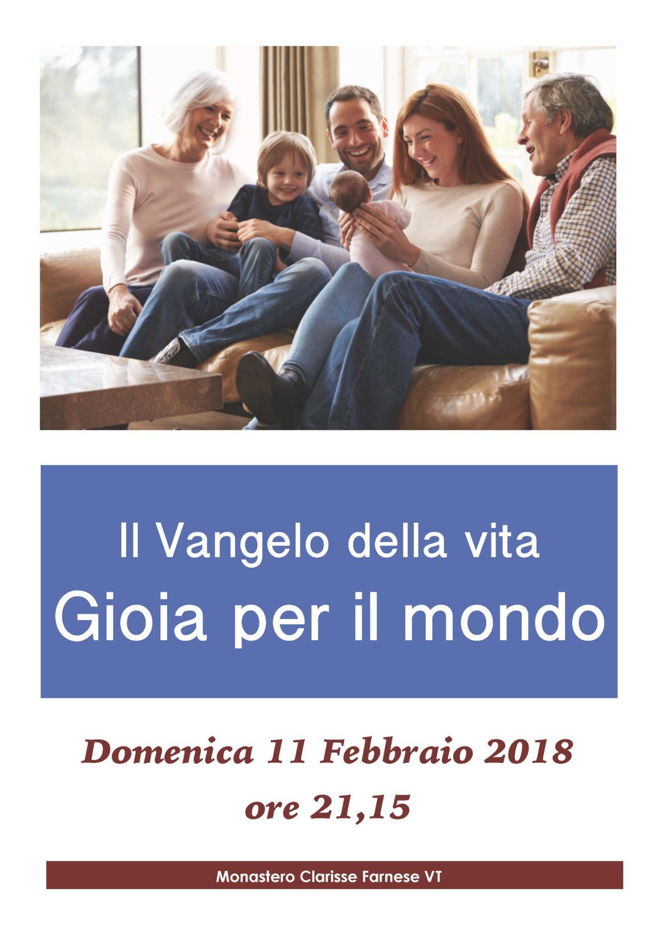 Manifesto 11 Febbraio 2018